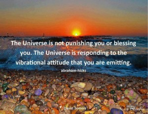 Law of attraction - the universe and vibrations abraham