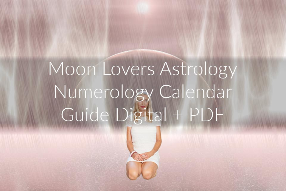 Astrology Numerology  Calendar - Digital + PDF 2020